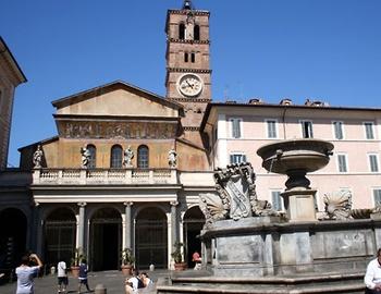 church of Santa Maria in Trastevere - Rome