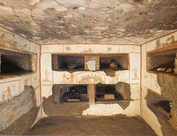 catacombs of Saint Callixtus - Rome