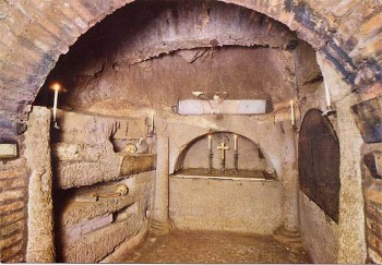 catacombs of Saint Agnes - Rome