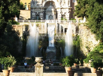the Villas in Tivoli - Rome